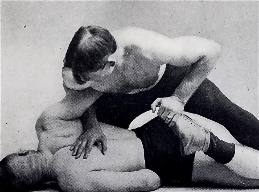 Frank Gotch Toe Hold