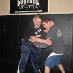 Training with Billy Robinson