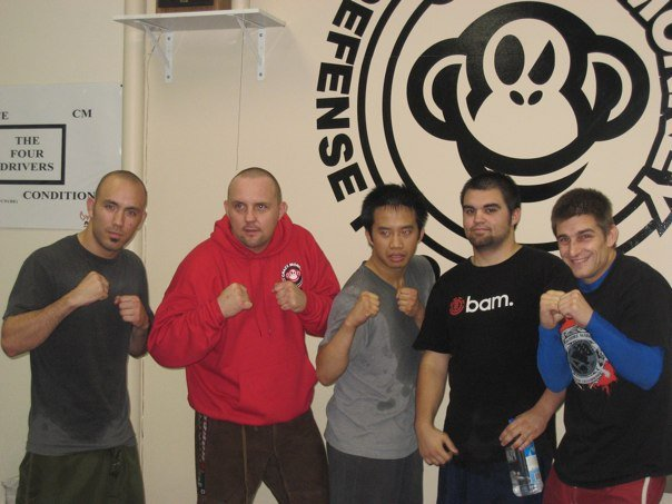 Me and several of my clients with Rodney Circa 2009