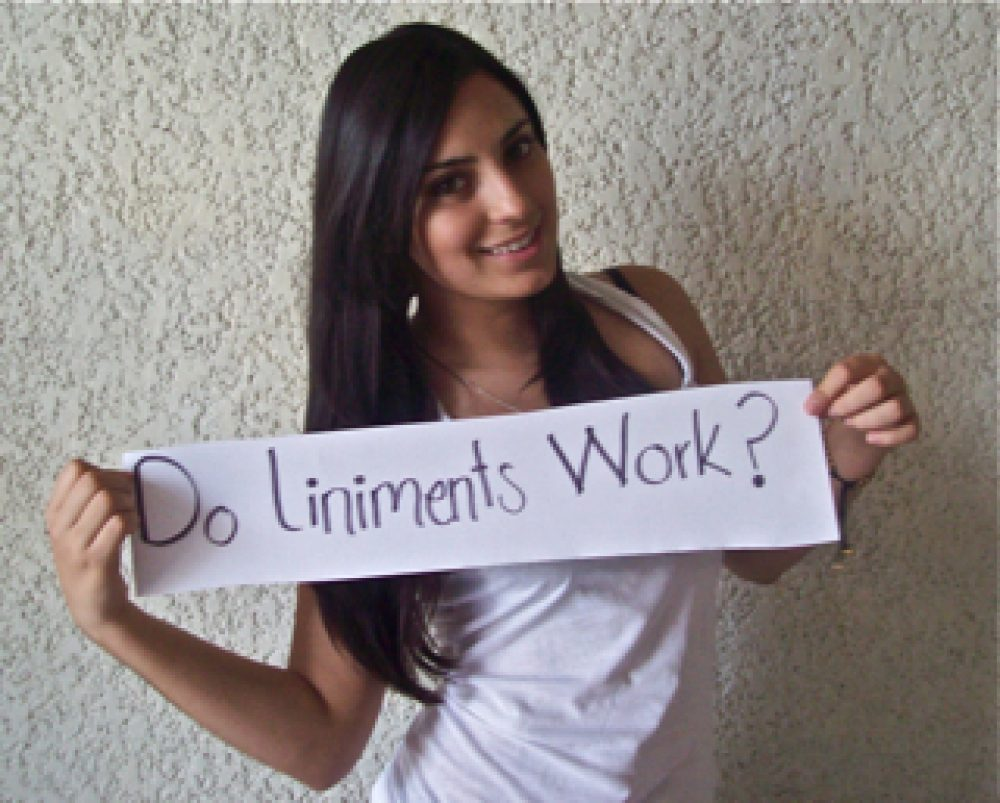 Do Liniments Work?