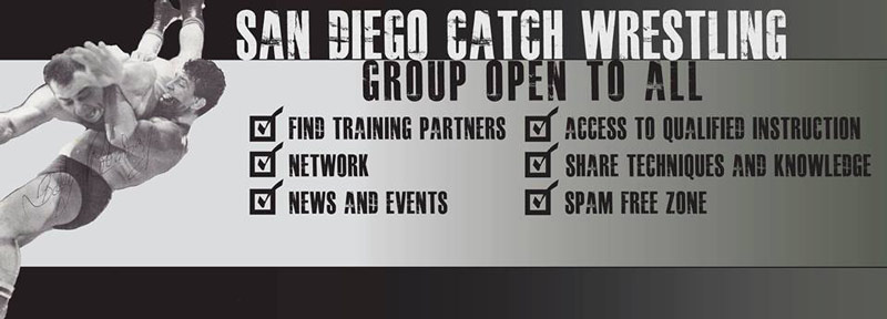 New San Diego Catch Wrestling Facebook Group